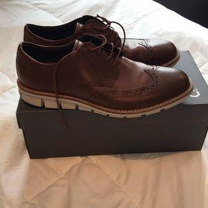 """Men's Ecco """"Jeremy"""" size 9 hybrid dress shoes"""
